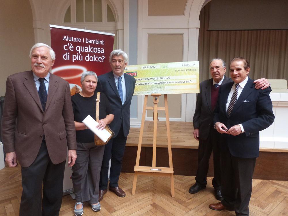 Immagine 45mila euro al Sant'Anna grazie a Codé- Crai Ovest